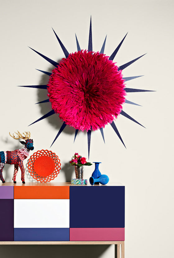 Dulux + Safari Fusion | Dulux United by Style: Translating runway fashion into colourful eclectic interiors