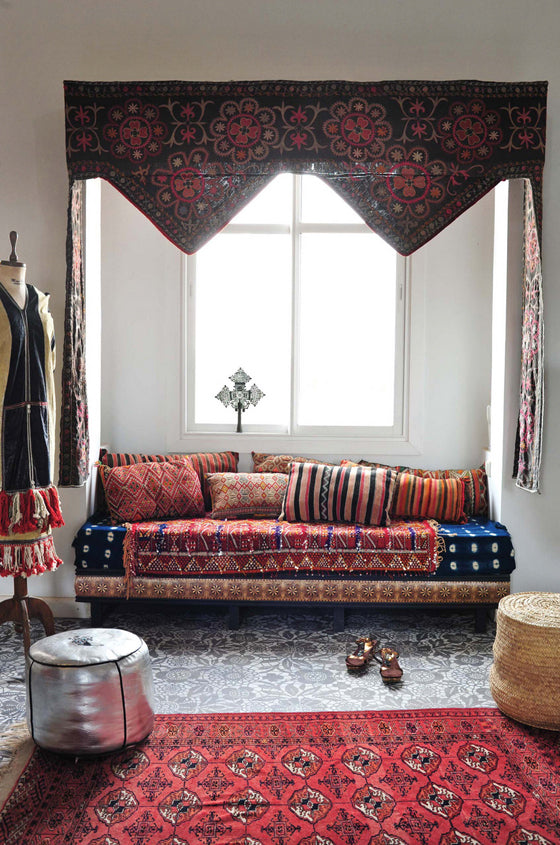 Ethiopian Crosses | Moroccan boho chic with an Ethiopian Cross from Maryam Montague's book Marrakech by Design