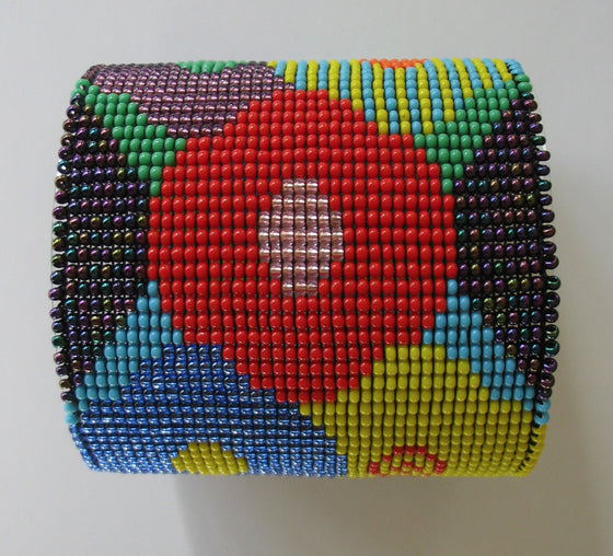 Safari Journal / Blog by Safari Fusion | Bracelet envy | Colourful geometric bead bracelets and cuffs by South African designer Gillian Fuller