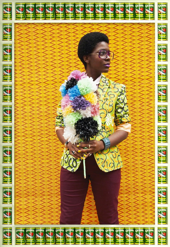 Hassan Hajjaj | Afro-pop style photographic portraits by Moroccan photographer Hassan Hajjaj