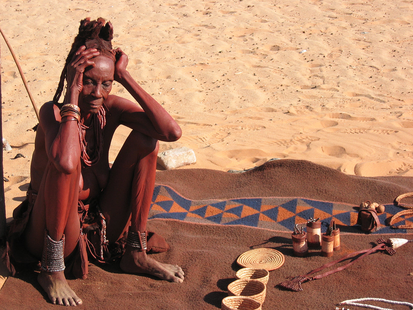 Safari Journal / Blog by Safari Fusion | Shopping bush style | Handmade trinkets and treasures of the Himba people, Kaokoveld Namibia | © Kellie Shearwood