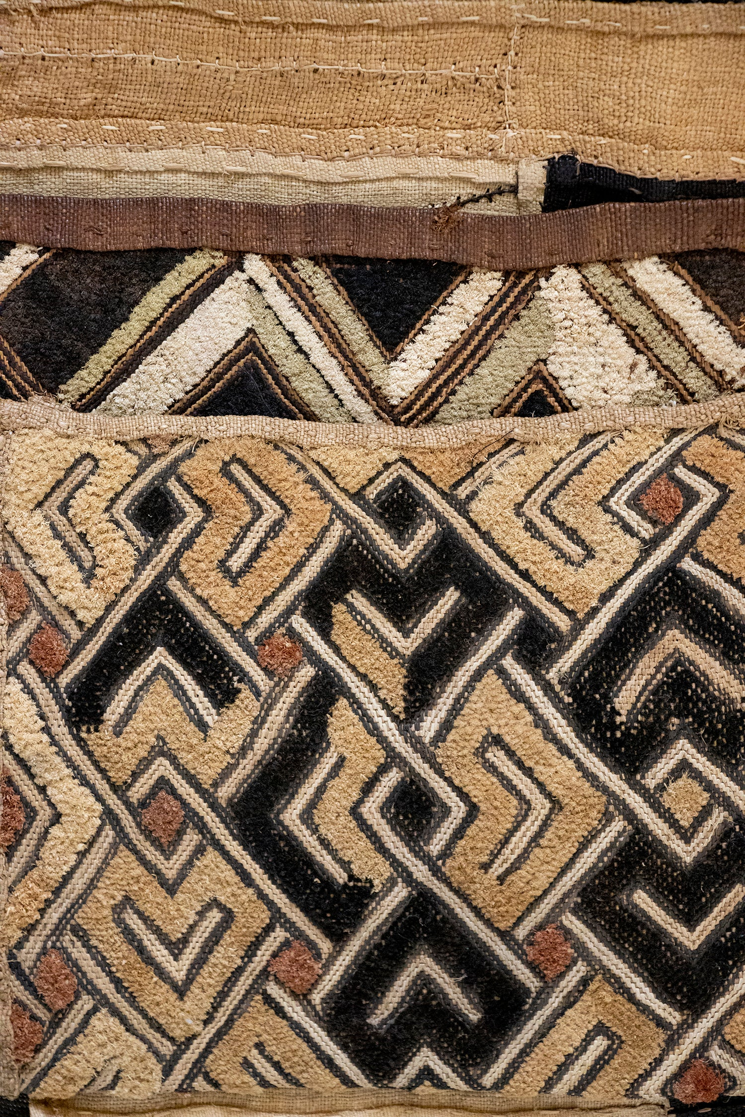 Safari Journal / Blog by Safari Fusion | African textiles / kuba cloth | A curated collection of Kuba Cloth collected on my travels to west and central Africa | Image © Kellie Shearwood