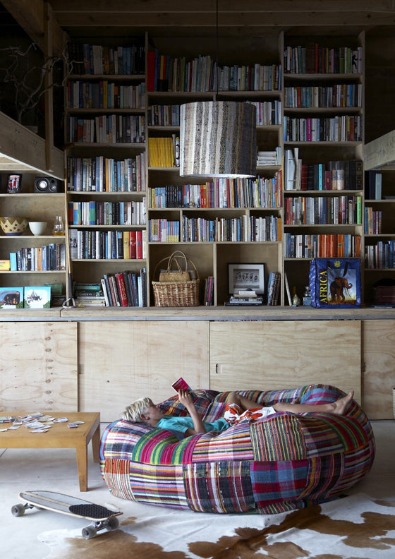 Library style | A relaxed coastal reading room at Soul Arch Plettenberg Bay, South Africa