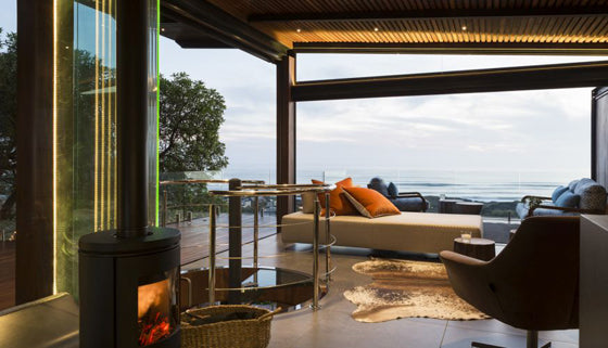 Safari Journal / Blog by Safari Fusion | Light a fire | Modern treetop style at Synergy Tree House, Scarborough / South Africa
