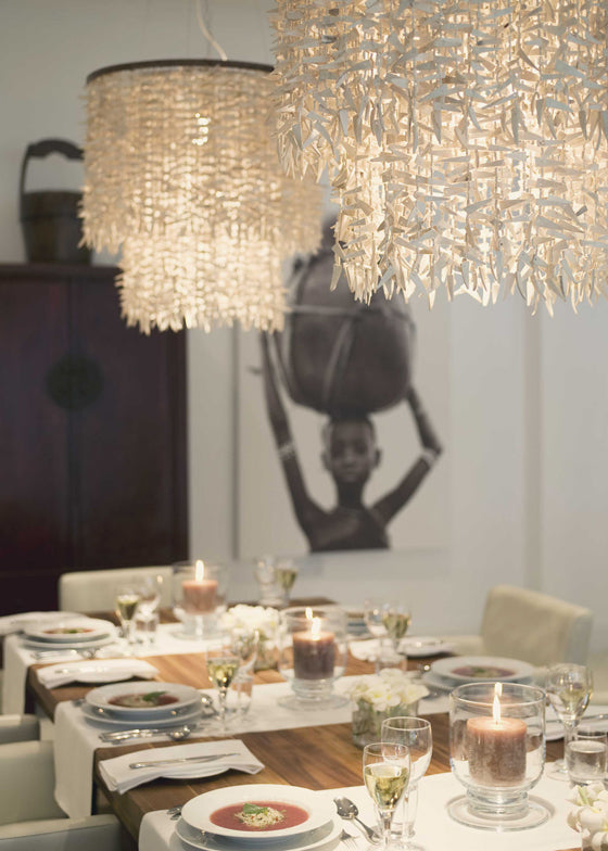 Safari Journal / Blog by Safari Fusion | Light the way | Dining room at The Oyster Bay / Dar es Salaam, Tanzania
