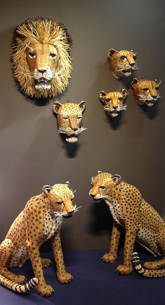 afari Journal / Blog by Safari Fusion | The lion sleeps tonight | Admiring the talent of South Africa's leading bead artists | Bead Lion, Leopard and Cheetah