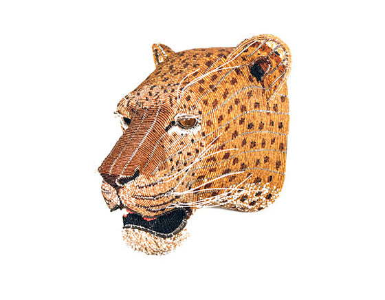 Safari Journal / Blog by Safari Fusion | The lion sleeps tonight | Admiring the talent of South Africa's leading bead artists | Bead Leopard