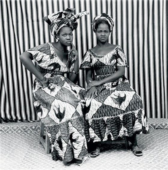 Safari Journal / Blog by Safari Fusion | Photographer Malick Sidibé | Vintage photographic art from Bamako, Mali | Seated Ladies 1969 | © Malick Sidibé