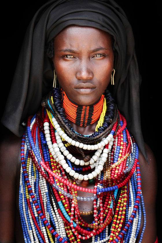 Photographer Mario Gerth | African photographic portraits | Tribes of the Omo Valley Ethiopia © Mario Gerth