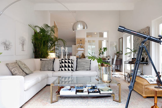 Safari Journal / Blog by Safari Fusion | Modern bohemian | An all white Cape Town home filled with trinkets and treasures from travels abroad / South Africa