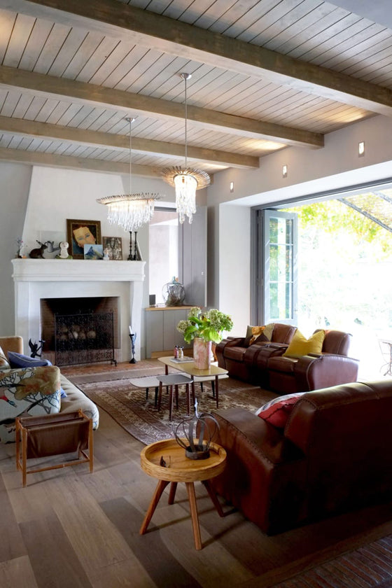Safari Journal / Blog by Safari Fusion | Modern bohemian | An artistic living room nestled on the slopes of Table Mountain, Cape Town city bowl / South Africa