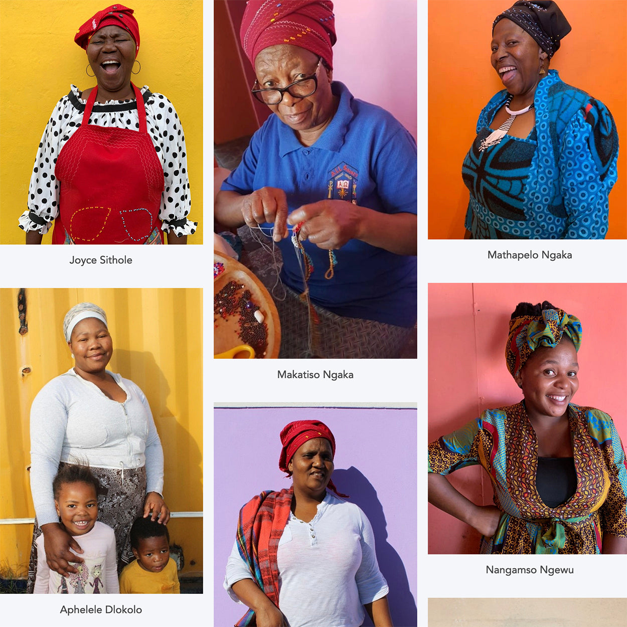Safari Journal / Blog by Safari Fusion | The colours of Monkeybiz | Some of the amazing women artisans crafting quirky bead animal creations at Monkeybiz [South Africa]