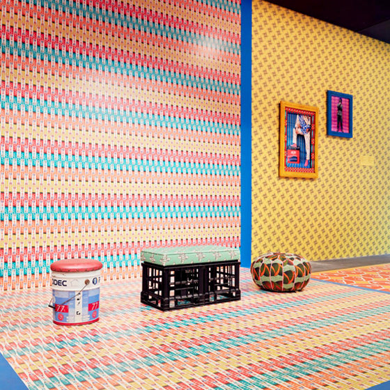 NGV Triennial | Moroccan Tea House 'Noss Noss' at the NGV by Hassan Hajjaj, Morocco