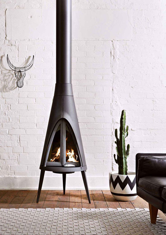 Nguni Wire Head (black) by Safari Fusion www.safarifusion.com.au | Image via Oblica