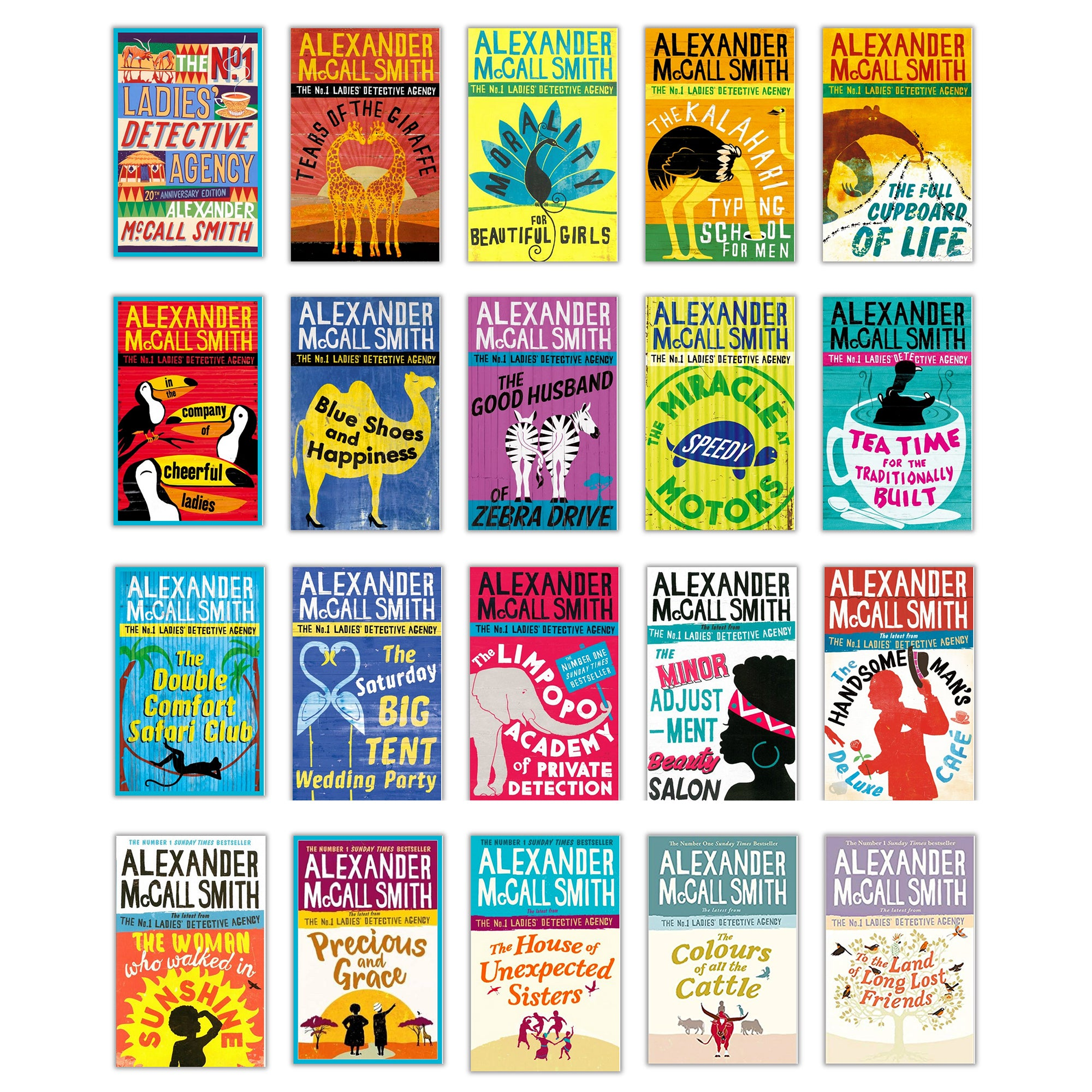 Safari Journal / Blog by Safari Fusion | The No.1 Ladies' Detective Agency book series by Alexander McCall Smith / Titles 1 to 20