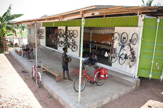 Ship it [part 1] | Re-cycle Bikes to Africa project in Ghana | Unwanted pre-loved bikes are shipped to Africa, restored and distributed