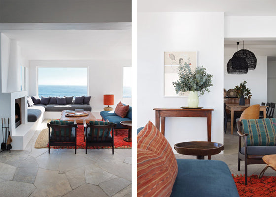 Safari Journal / Blog by Safari Fusion | Summer sea views | Living room sea views at Icaria / Bantry Bay, South Africa