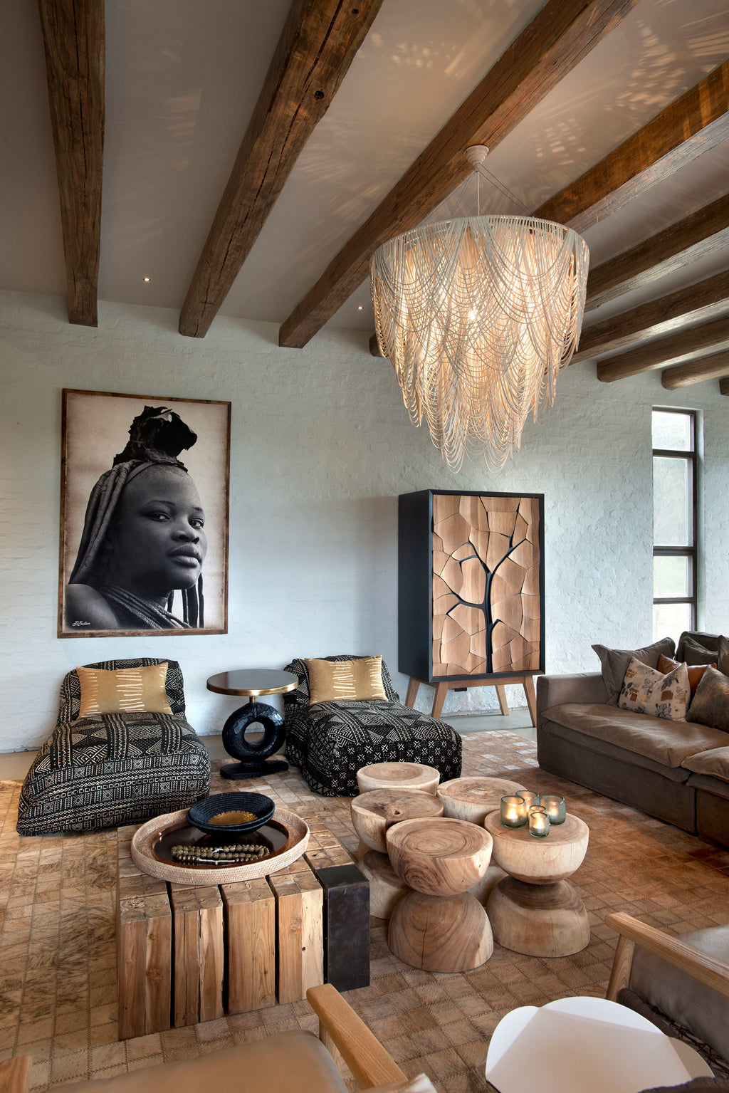 Safari Journal / Blog by Safari Fusion | Dream bush home | An understated, earthy and elegant private bush retreat in the Waterberg, South Africa | Interiors by Fox Brown Creative
