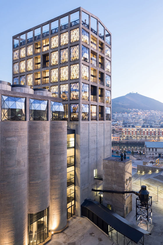 Zeitz MOCAA | Exterior image of Zeitz MOCAA by acclaimed Dutch architectural photographer Iwan Baan, Cape Town South Africa