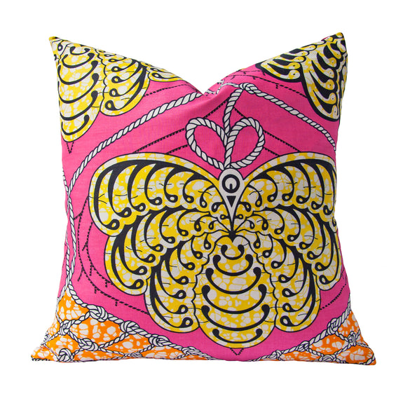 Afrique Cushion (butterfly) by Safari Fusion www.safarifusion.com.au