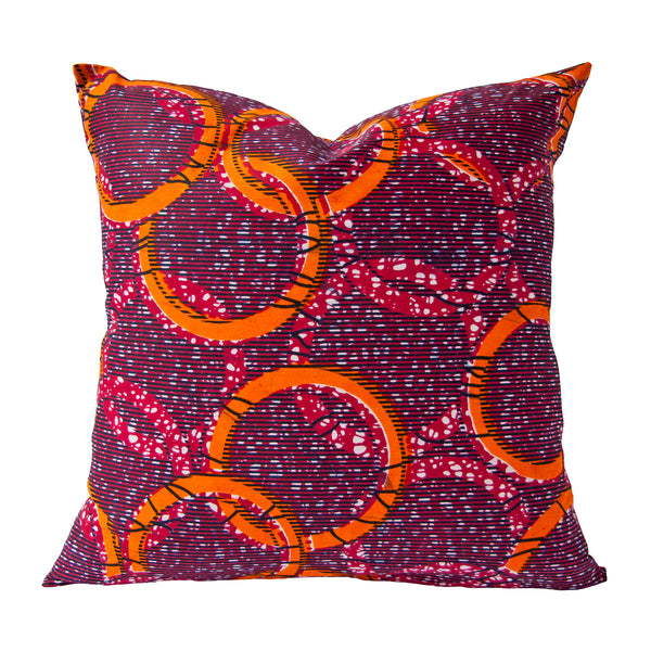 Afrique Cushion (rings) by Safari Fusion www.safarifusion.com.au