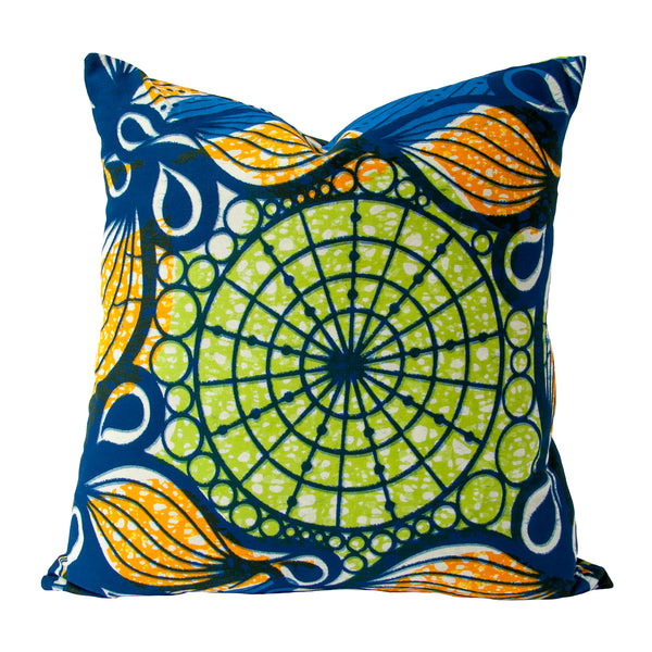 Afrique Cushion (wheel) by Safari Fusion www.safarifusion.com.au