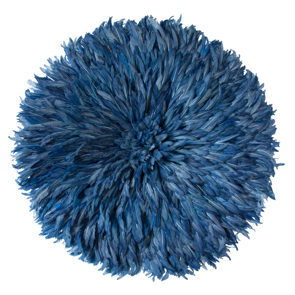 Bamileke Feather Headdress (blue) | Juju Hat by Safari Fusion www.safarifusion.com.au