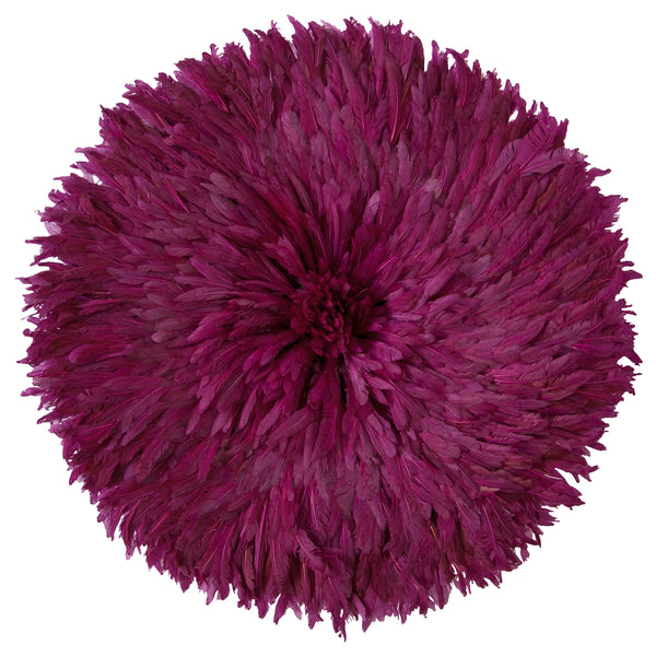 Bamileke Feather Headdress (burgundy) | Juju Hat by Safari Fusion www.safarifusion.com.au