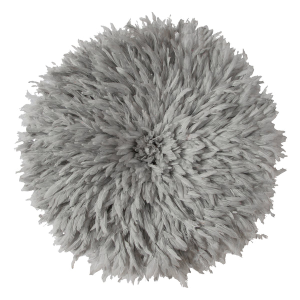 Bamileke Feather Headdress (grey) | Juju Hat by Safari Fusion www.safarifusion.com.au