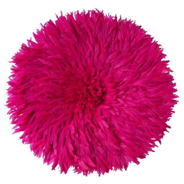 Bamileke Feather Headdress (magenta) | Juju Hat by Safari Fusion www.safarifusion.com.au