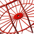Cape Wire Bowl (red) | Detail view