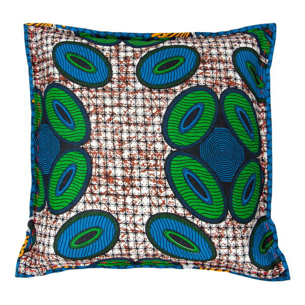 Chitenche Cushion (circles) by Safari Fusion www.safarifusion.com.au