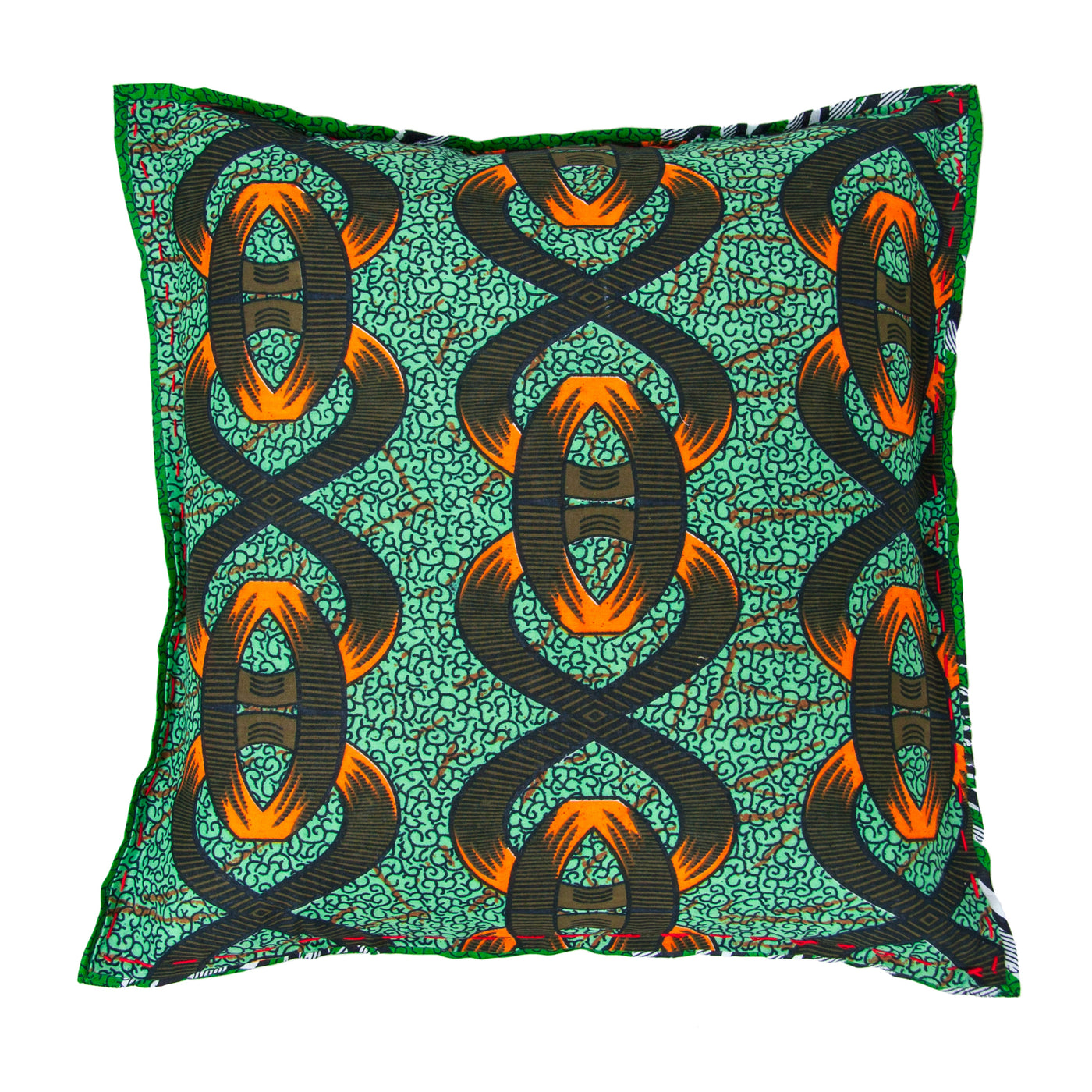 Chitenche Cushion (links) by Safari Fusion www.safarifusion.com.au