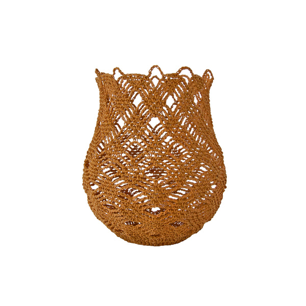 rochet Basket (small | orange ochre) by Safari Fusion www.safarifusion.com.au