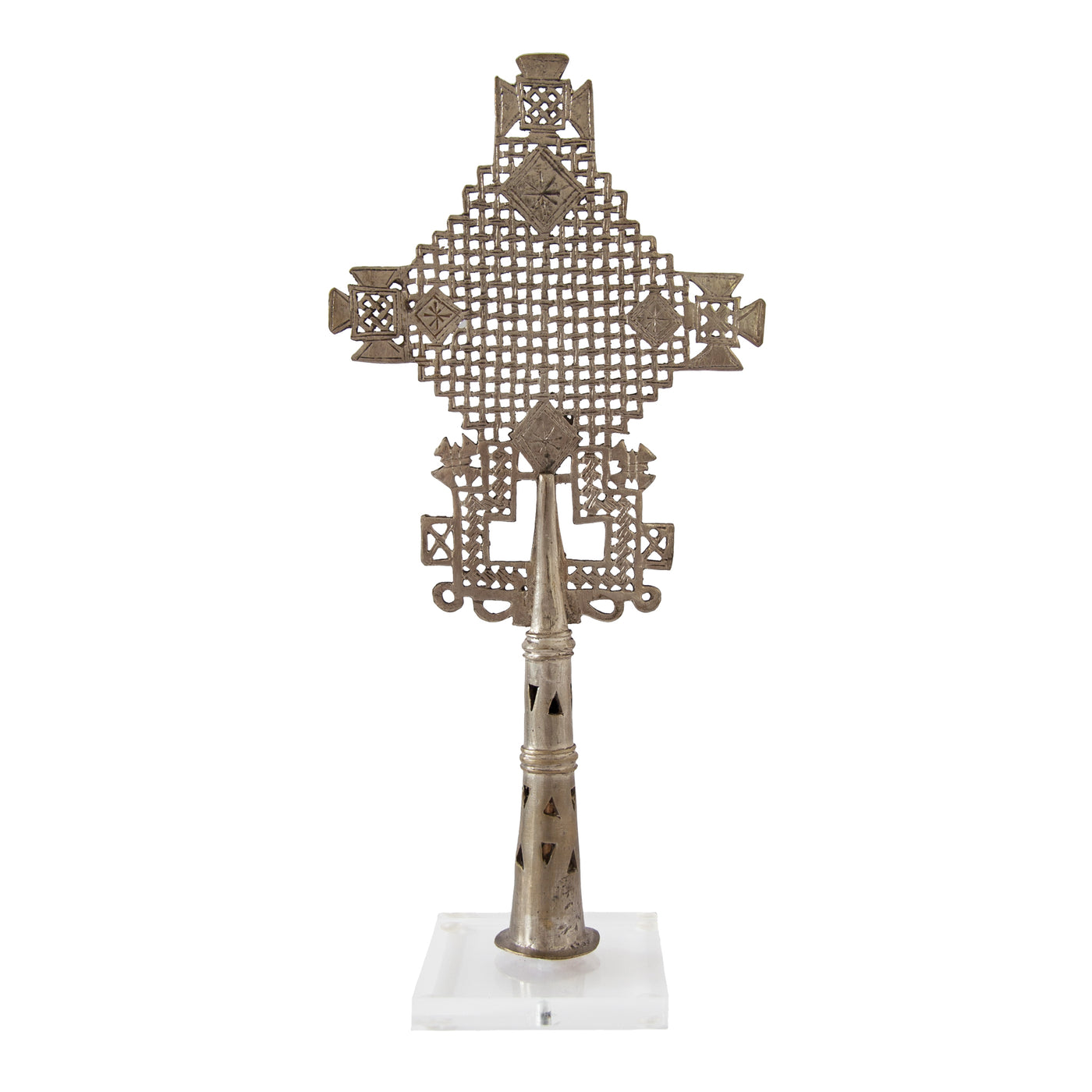 Ethiopian Coptic Cross (large) by Safari Fusion www.safarifusion.com.au