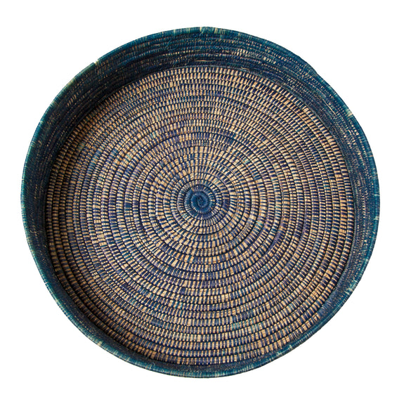 Malawi Basket (large | blue) by Safari Fusion www.safarifusion.com.au