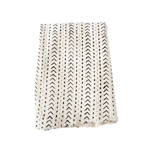 Mud Cloth Throw (arrow) by Safari Fusion www.safarifusion.com.au