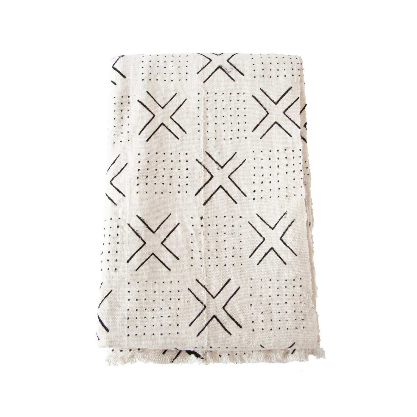 Mud Cloth Throw (cross) by Safari Fusion www.safarifusion.com.au