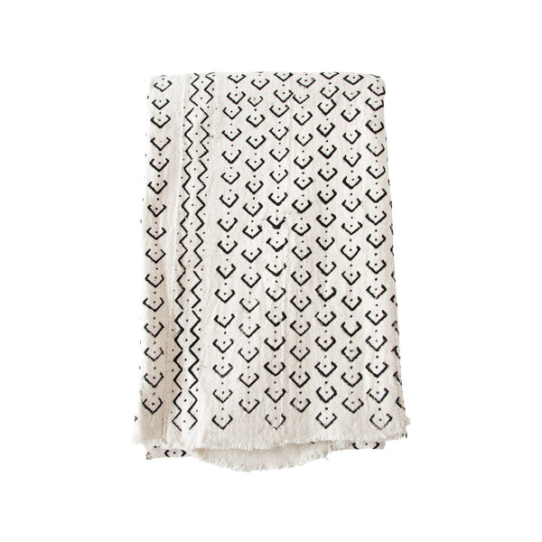 Mud Cloth Throw (dots) by Safari Fusion www.safarifusion.com.au