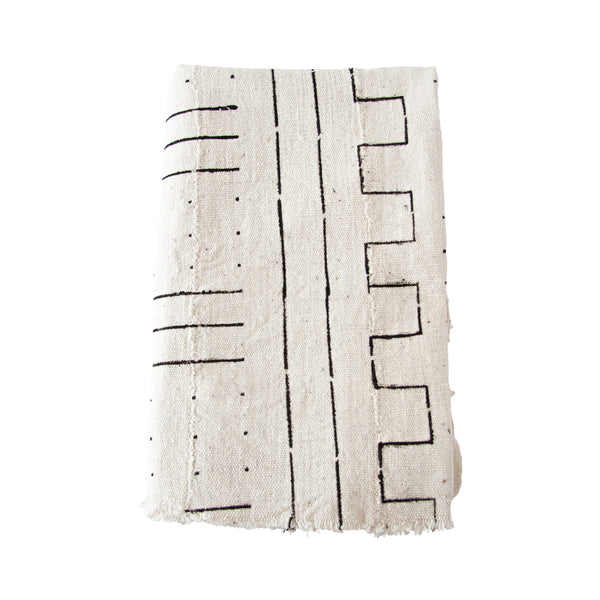 Mud Cloth Throw (lines) by Safari Fusion www.safarifusion.com.au