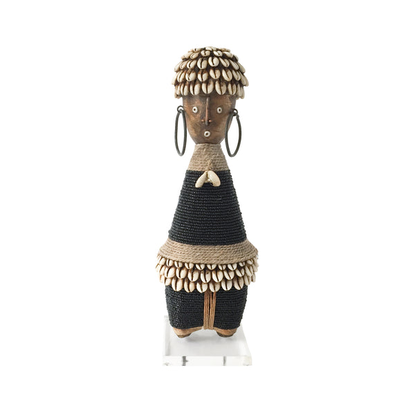 Namji Doll (black) by Safari Fusion www.safarifusion.com.au