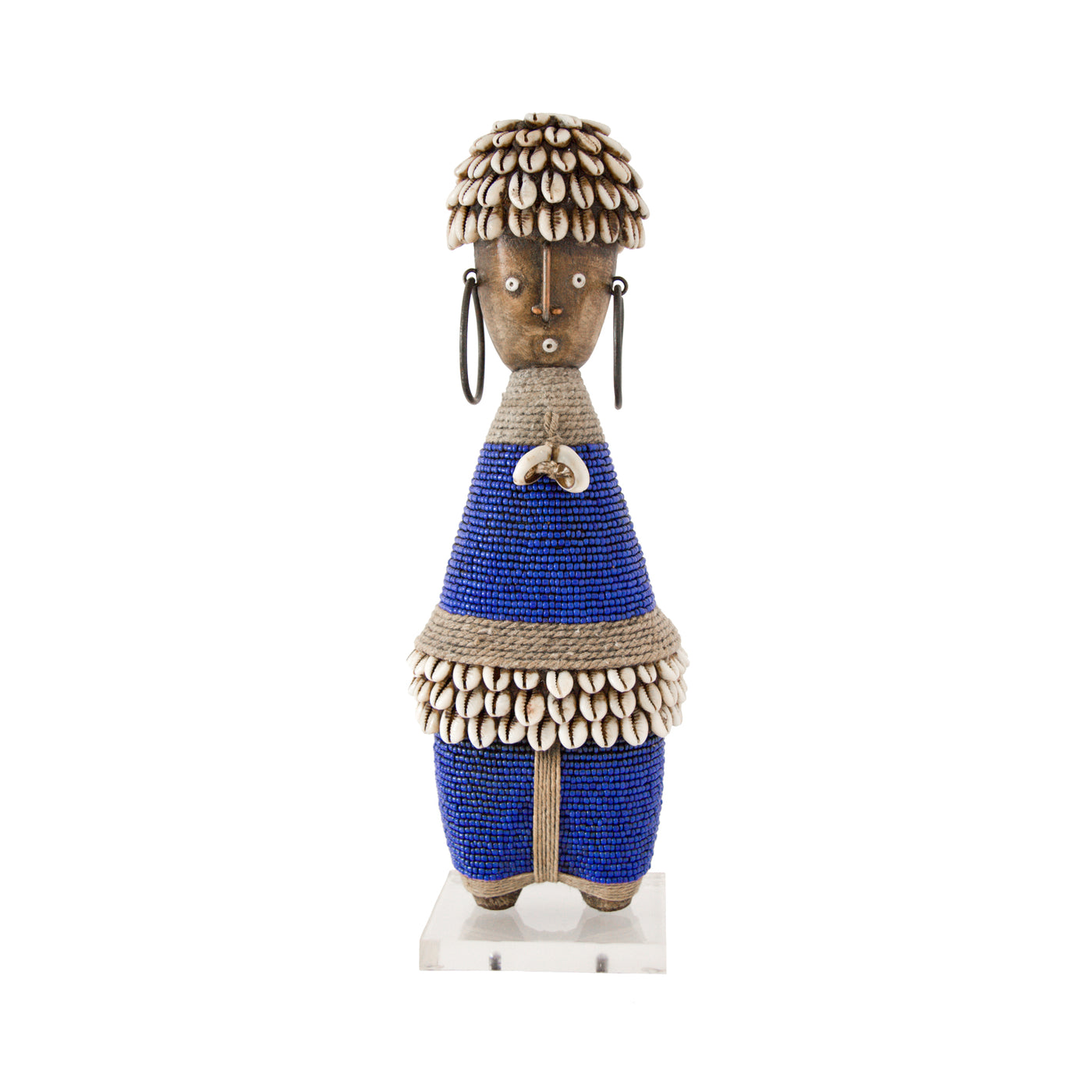 Namji Doll (royal blue) by Safari Fusion www.safarifusion.com.au