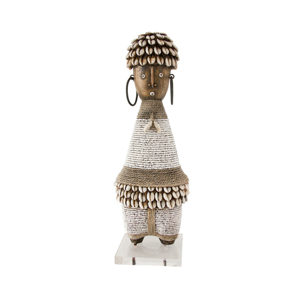 Namji Doll (white) by Safari Fusion www.safarifusion.com.au