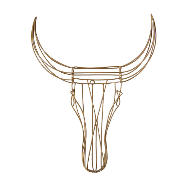 Nguni Wire Head (gold) by Safari Fusion www.safarifusion.com.au
