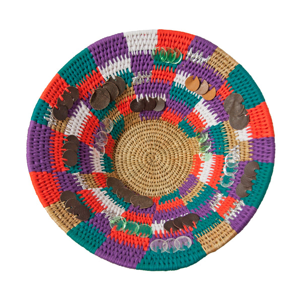 Swazi Patchwork Basket (large) by Safari Fusion www.safarifusion.com.au