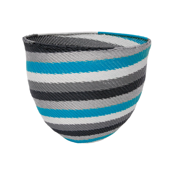 Telephone Wire Stripe Bowl (aqua) by Safari Fusion www.safarifusion.com.au