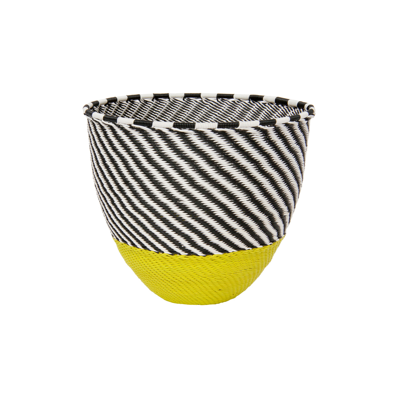 Telephone Wire Wave Bowl (citron) by Safari Fusion www.safarifusion.com.au