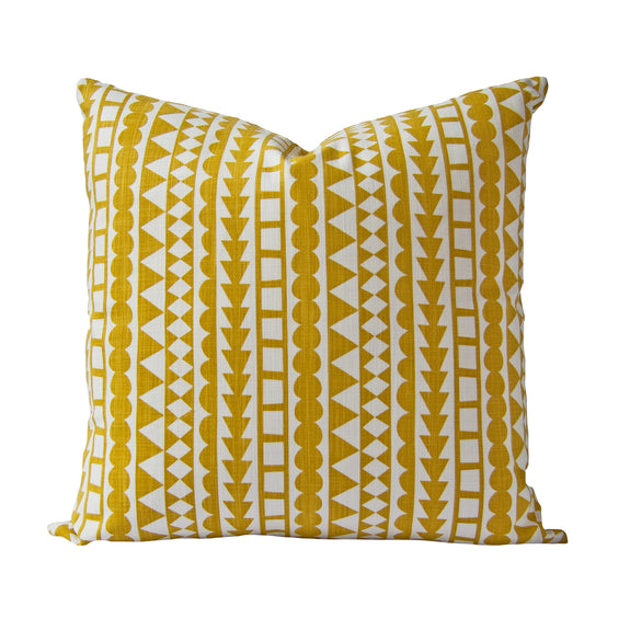 Tribal Cushion (harvest) by Safari Fusion www.safarifusion.com.au
