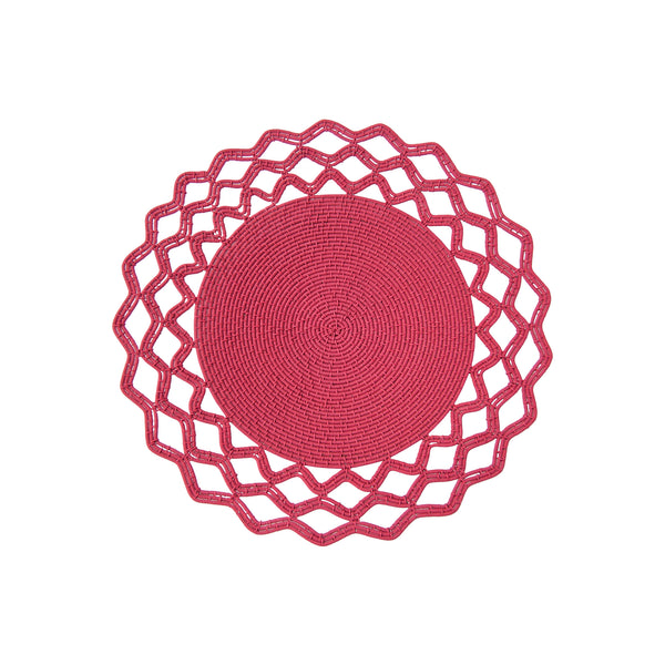 Wired Lace Bowl (magenta) by Safari Fusion www.safarifusion.com.au