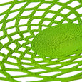 Wired Lace Platter (medium | green) | Detail view